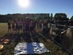Fabuleuze ballon vaart boven de regio Beesd zondag  5 augustus 2018