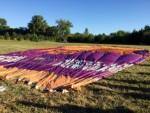 Majestueuze luchtballon vaart gestart op opstijglocatie Beesd zondag 5 augustus 2018