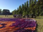 Overweldigende luchtballon vaart startlocatie Beesd zondag  5 augustus 2018
