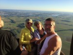Magnifieke luchtballonvaart boven de regio Beesd zondag 5 augustus 2018