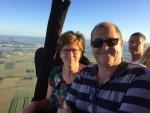 Adembenemende heteluchtballonvaart gestart op opstijglocatie Beesd zondag  5 augustus 2018