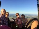 Voortreffelijke luchtballonvaart vanaf opstijglocatie Beesd zondag  5 augustus 2018