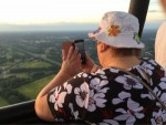 Prachtige ballonvlucht opgestegen op opstijglocatie Enschede zondag  5 augustus 2018