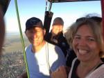Jaloersmakende heteluchtballonvaart gestart op opstijglocatie Akkrum zondag  5 augustus 2018