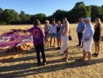 Te gekke heteluchtballonvaart in Nijmegen zondag  5 augustus 2018
