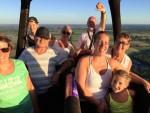 Geweldige heteluchtballonvaart vanaf opstijglocatie Venray zondag  5 augustus 2018