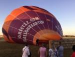 Jaloersmakende ballon vlucht in de omgeving van Zwolle zondag  5 augustus 2018