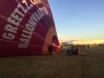 Uitzonderlijke heteluchtballonvaart vanaf startveld Zwolle zondag  5 augustus 2018