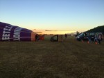 Verrassende luchtballon vaart startlocatie Zwolle zondag  5 augustus 2018