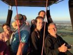 Unieke heteluchtballonvaart opgestegen op opstijglocatie Zwolle zondag  5 augustus 2018