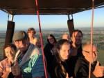 Prachtige luchtballon vaart omgeving Zwolle zondag  5 augustus 2018