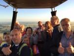 Buitengewone luchtballonvaart over de regio Zwolle zondag  5 augustus 2018