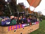 Exceptionele ballonvlucht over de regio Beesd op zondag 7 oktober 2018