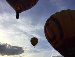 Heerlijke ballon vlucht vanaf startlocatie Beesd op zondag 7 oktober 2018