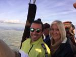 Meesterlijke ballon vaart startlocatie Beesd op zondag 7 oktober 2018