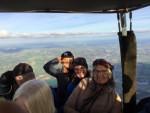 Grandioze ballonvlucht gestart in Beesd op zondag 7 oktober 2018