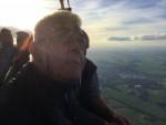 Hoogstaande ballon vlucht vanaf startveld Beesd op zondag 7 oktober 2018