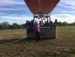 Exceptionele ballonvaart gestart op opstijglocatie Horst op zondag  7 oktober 2018