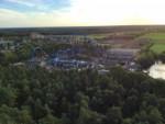 Uitmuntende ballon vaart over de regio Horst op zondag  7 oktober 2018