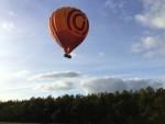 Ongelofelijke mooie ballonvlucht startlocatie Ommen op zondag  7 oktober 2018