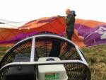 Meesterlijke ballonvaart gestart op opstijglocatie Joure zondag  8 april 2018