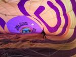 Unieke ballonvaart opgestegen op startlocatie Joure zondag  8 april 2018