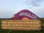Overweldigende ballonvaart opgestegen op startveld Joure zondag  8 april 2018