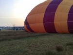 Feestelijke heteluchtballonvaart regio Joure zondag  8 april 2018