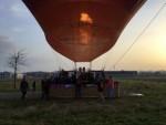 Grandioze luchtballon vaart in de omgeving Joure zondag  8 april 2018