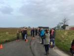Relaxte heteluchtballonvaart boven de regio Joure zondag  8 april 2018