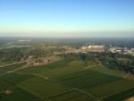 Geweldige heteluchtballonvaart opgestegen op startlocatie Enschede zondag  8 juli 2018