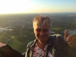 Super heteluchtballonvaart boven de regio Hengelo zondag  8 juli 2018