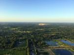 Fascinerende ballonvlucht vanaf startlocatie Hengelo zondag  8 juli 2018