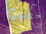 Unieke luchtballon vaart in Hengelo zondag  8 juli 2018