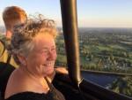 Feestelijke ballon vlucht vanaf opstijglocatie Hengelo zondag  8 juli 2018