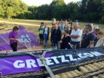 Bijzondere ballon vaart in de buurt van Hengelo zondag  8 juli 2018