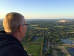 Exceptionele ballonvlucht in de buurt van Hengelo zondag  8 juli 2018