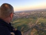 Weergaloze ballon vaart vanaf startlocatie Hengelo zondag  8 juli 2018