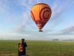 Plezierige ballon vaart omgeving Akkrum zondag  8 juli 2018
