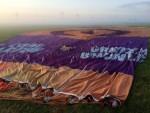 Exceptionele ballon vlucht in de omgeving Akkrum zondag  8 juli 2018
