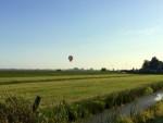 Unieke ballon vaart gestart op opstijglocatie Akkrum zondag  8 juli 2018