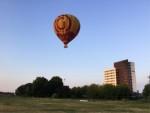 Uitzonderlijke heteluchtballonvaart opgestegen op startveld Maastricht zondag 8 juli 2018