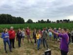 Adembenemende ballonvaart in de omgeving van Tilburg zondag 8 juli 2018