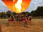 Professionele luchtballonvaart startlocatie Tilburg zondag 8 juli 2018