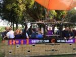 Magnifieke luchtballonvaart opgestegen op startlocatie 's-hertogenbosch op zondag 9 september 2018