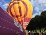 Sublieme luchtballonvaart opgestegen op opstijglocatie 's-hertogenbosch op zondag 9 september 2018