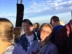 Perfecte luchtballonvaart in de regio 's-hertogenbosch op zondag 9 september 2018
