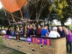 Feestelijke heteluchtballonvaart in de omgeving 's-hertogenbosch op zondag 9 september 2018
