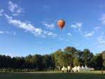 Weergaloze luchtballon vaart vanaf opstijglocatie 's-hertogenbosch op zondag 9 september 2018