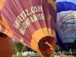 Unieke luchtballon vaart opgestegen op startveld 's-hertogenbosch op zondag 9 september 2018